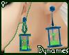 *Dy} Hourglas Earrings.7