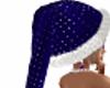 CHRISTMAS BLUE HAT