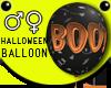 Halloween BOO Balloon Bl