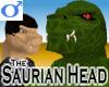 Saurian Head -Mens v1b