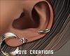 |< Mils! Earrings!