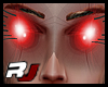 Futurist eye halo RED