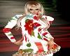 christmas dress/ ruffles