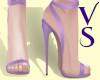 VS - Pink Tie Up Heels