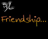 Friendship Pee sticker