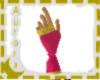 C.Mickie's pink gloves