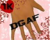 !!1K DGAF knuckle male