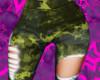 Camo Mystic Green Torn