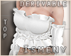 [Is] Amore Ruffle Top Dr