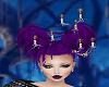 Halloween Hair Purple