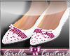 [G] Flat Shoes w. Bow
