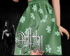 mommy & me skirt green