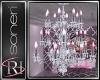 *S* crystal chandelier