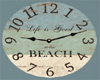 *HP* Beach Clock