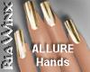 14kt Gold Nails