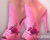 Abry Pink Heels