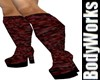 Curvacious Blood Boots