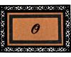 """Monogram """"O"""" Door Mat"""