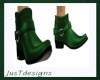 JT Low Cut Boots Green