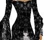 Black Silver Tudor Gown