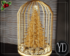CHRISTMAS GOLD CAGE
