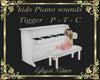 piano kids tigger