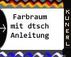 (K) Farbiger Fotoraum