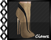 ☾ Nude Short Boots
