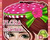 ! FLORA Pink COMBI Hat