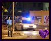 Police Back Drop Night