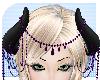 merona purple jewel horn