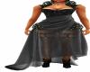 Black Spike Garter Dress