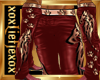 [L] Red WOLF Pants M
