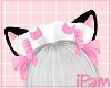 p. neko black maid hat