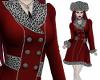 Greta Red Fur Coat
