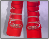 Aiko Boots Red