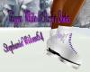 Trig White&Purple Skates
