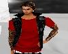 red vest & shirt hot