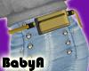 ! BA RLS Gold Belt Bag