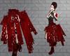 Red Glass WindChime Skrt