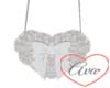 Heart Purse Silver