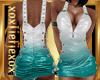 [L] AQUA White Dress F