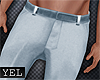 [Yel] Blue pants M