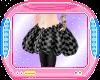 !iD Black Poof Skirt