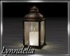 ~L~Bronze Candle Lantern