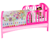 SM Pink Toddler Bed