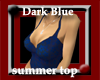 G| Dark Blue summer top