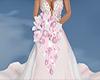pink bride boquet