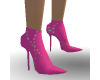 MJs Pink Bling Ankle Bts