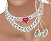 Ruby Color Necklace